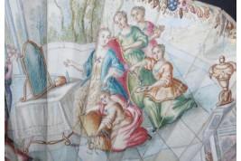 La toilette de Vénus, éventail vers 1740-50