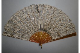 Peacock by Kees, fan circa 1900-1910
