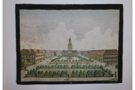 Perspective view night and day, 18th century