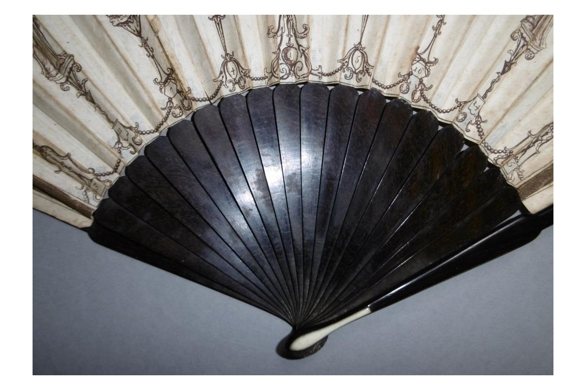 Neo-classical vices and virtues , game fan circa 1790-95