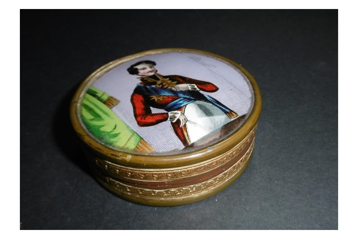 Henri Count of Chambord, candy box, early 19th century