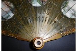 Optical, fan circa 1815-25