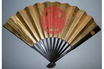 Gunsen, éventail de guerre japonais, milieu XIXème