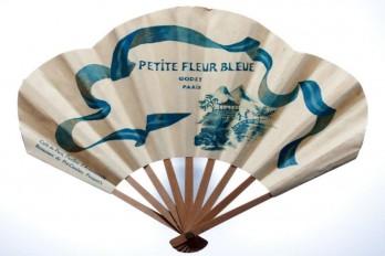 Perfume fan Petite fleur bleue Godet & Café de Paris. 1919