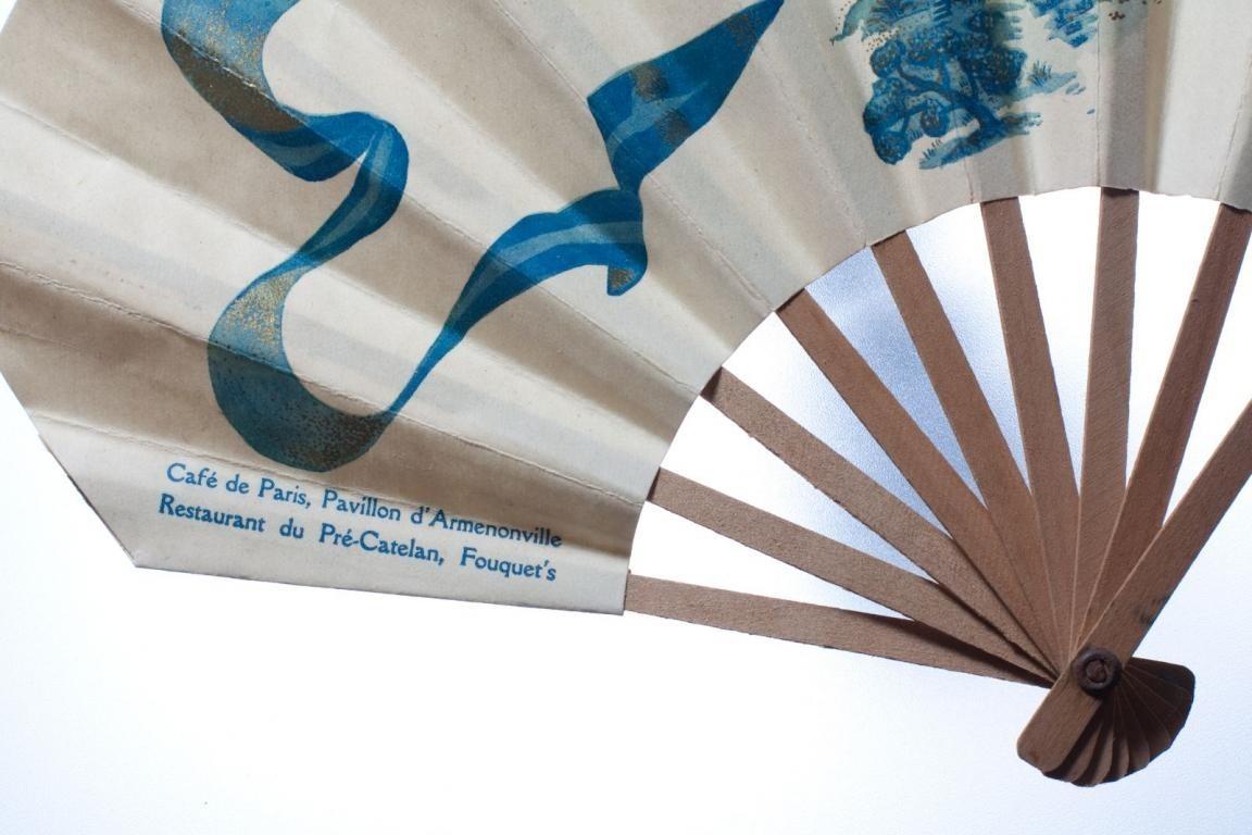 Parfum Petite fleur bleue Godet & Café de Paris. 1919