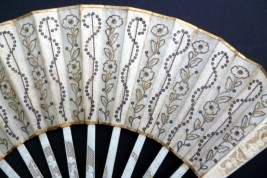 Wedding, fan circa 1780