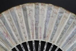 Eventail de mariage vers 1770
