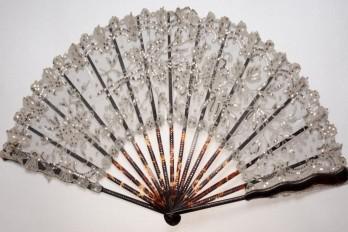 Art Nouveau fan, Duvelleroy, circa 1900