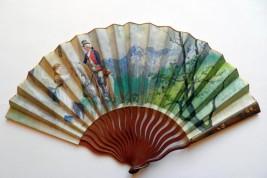 Le pic du Midi de Bigorre, late 19th century fan